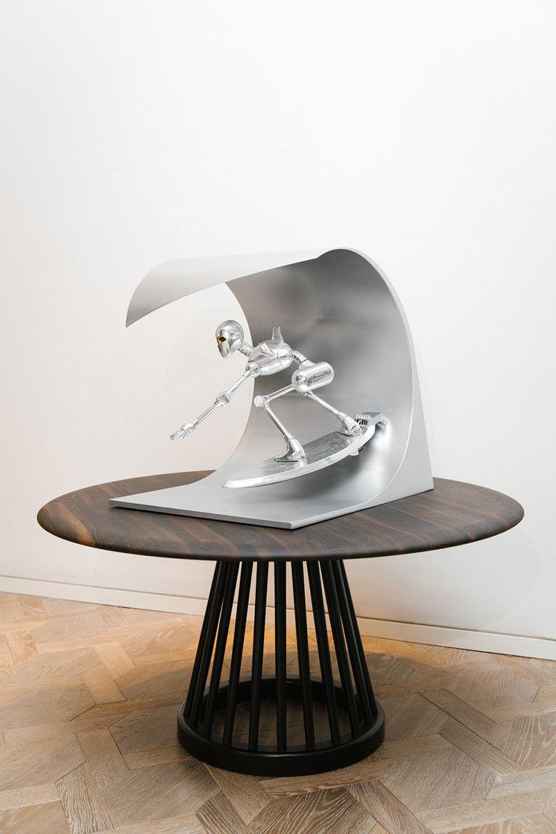 Decorative Metal Robot Sculptures Metal Robot Sculpture