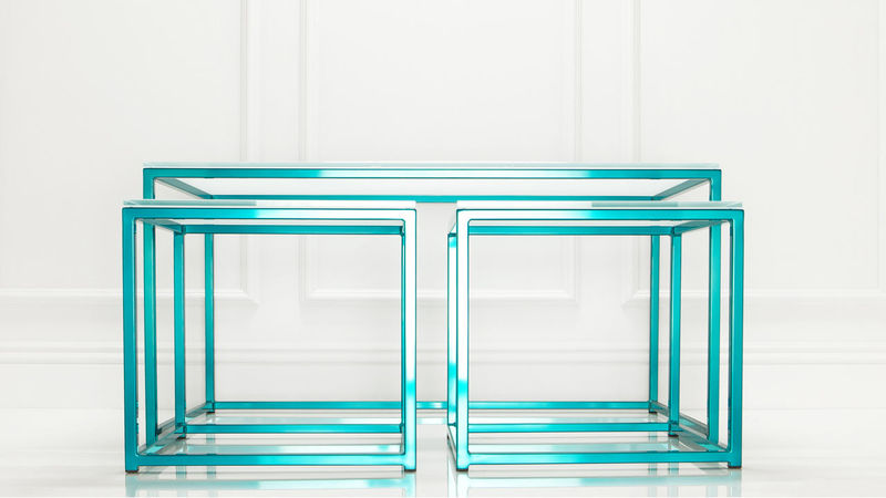 Luxe Metallic Furniture