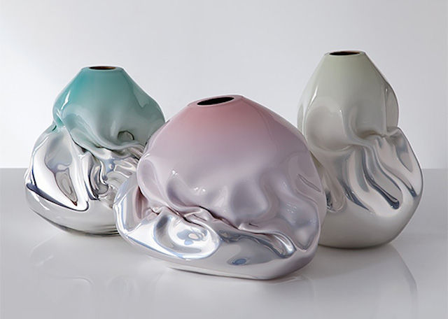 Metallic Glass Sculptures