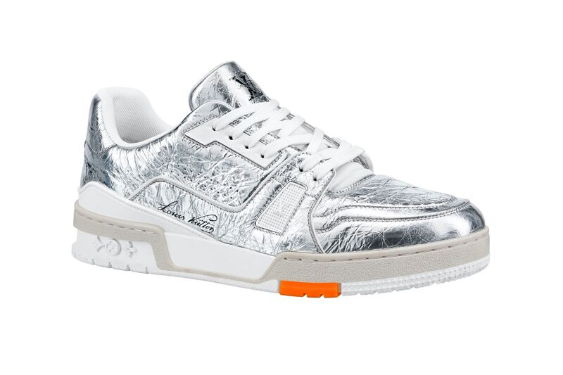 Ultra-Bright Silver Luxe Shoes