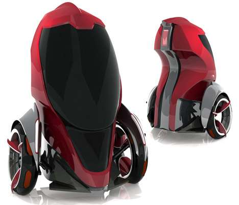 Mini Car Vacuum >> Personal Transportation Pods: Room For Only One in the Metro Cell Vehicle