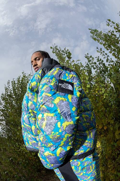 Graphic Art Technical Outerwear