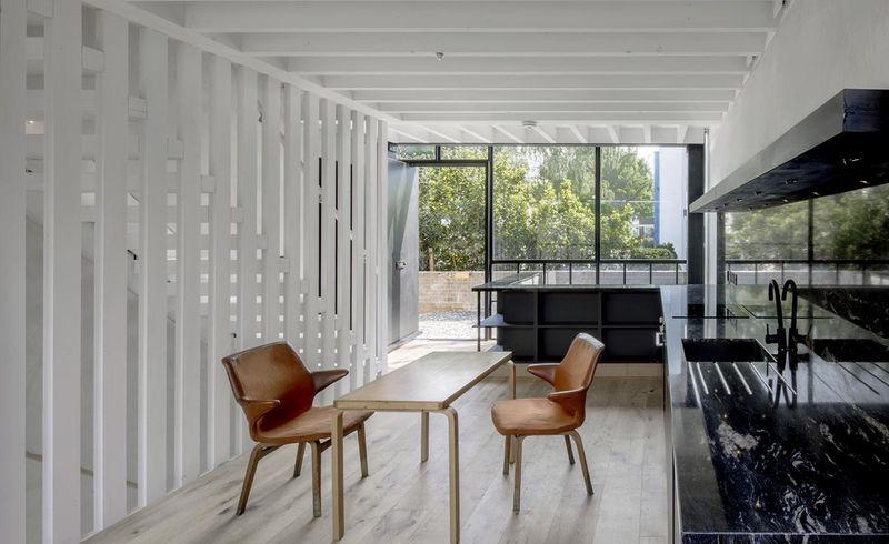 Monochromatic Modern Residences
