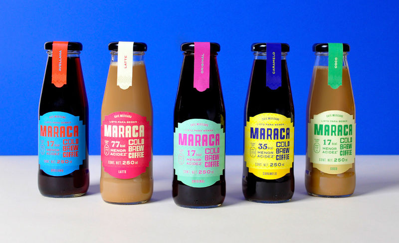 Cheerfully Colorful Coffee Brands