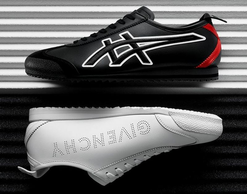 Sleek Luxury-Branded Sneakers