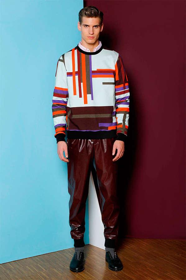 Color-Clashing Menswear
