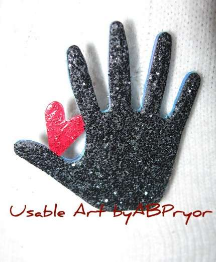 Sparkling Glove Creativity