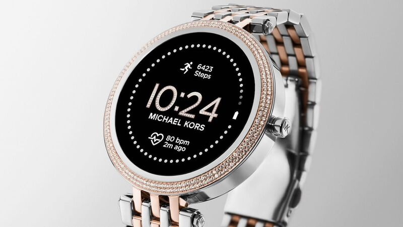 Crystal-Covered Smartwatches