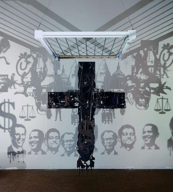 Controversial Political Crucifixes