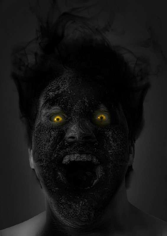 Horrifying Portrait Illustrations
