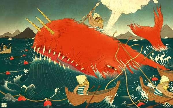 Floating World Illustrations