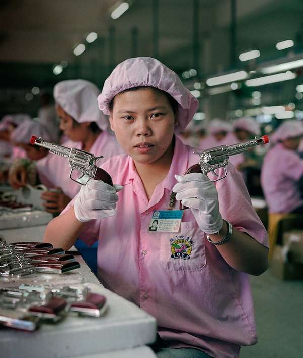 Melancholy Factory Worker Depictions