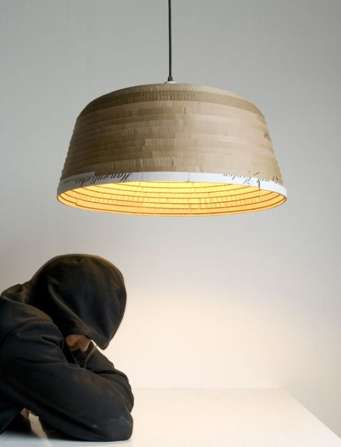 Corrugated Litter Lamps