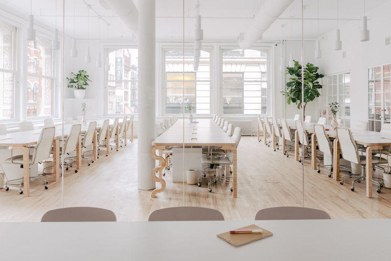 Playfully Accented Office Headquarters