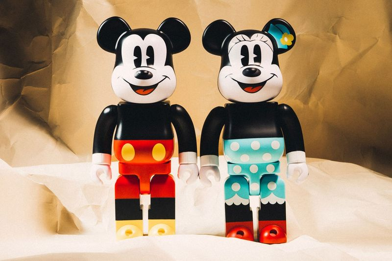 Disney-Themed Bear Figurines