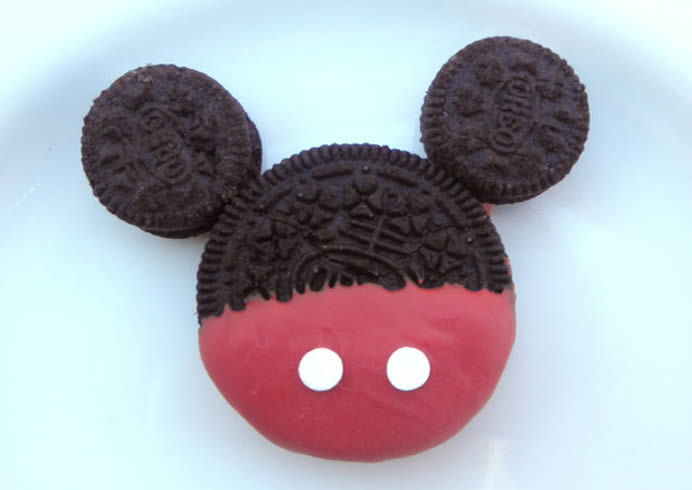 Cartoon Mouse Cookies