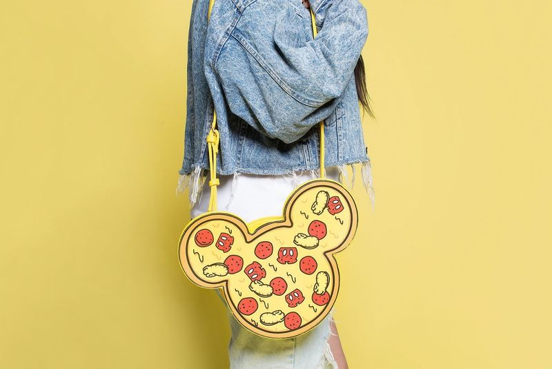 Mouse-Shaped Pizza Bags