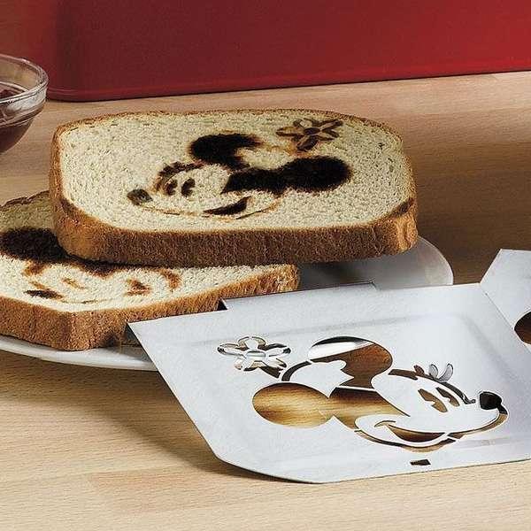 Cartoon-Stamped Breakfast Bread