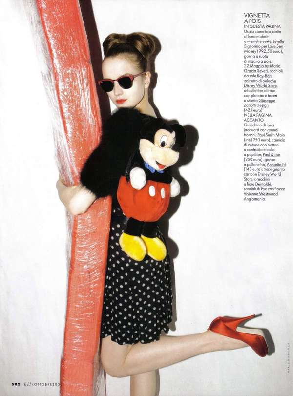 Mickey Mouse-Inspired Editorials