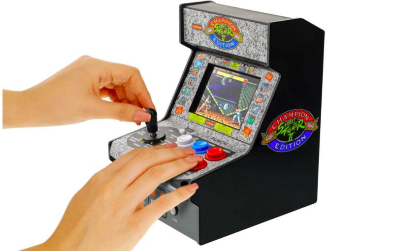Portable Retro Arcade Machines