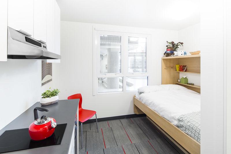 Student-Friendly Micro-Apartments : Micro-Apartments