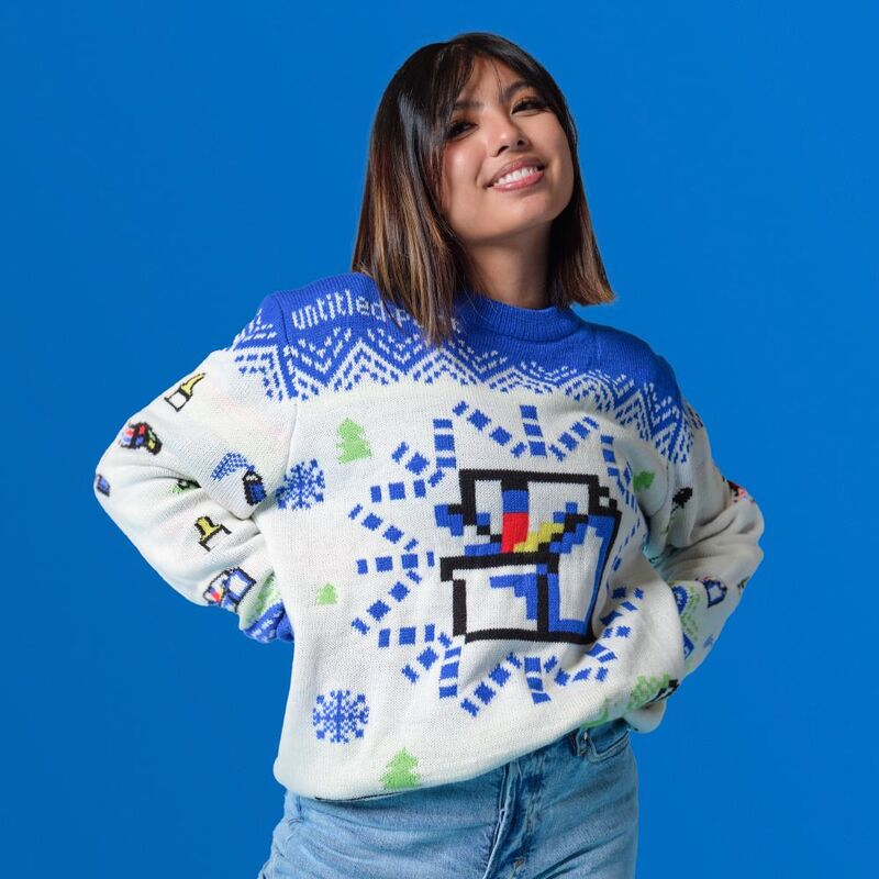 Computer-Inspired Holiday Sweaters