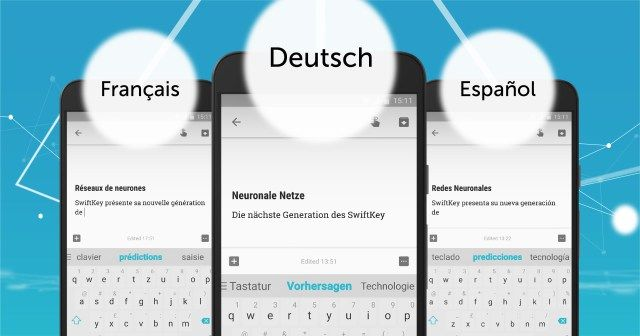 Multilingual Smart Keyboards