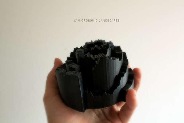 3D Sound Wave Sculptures