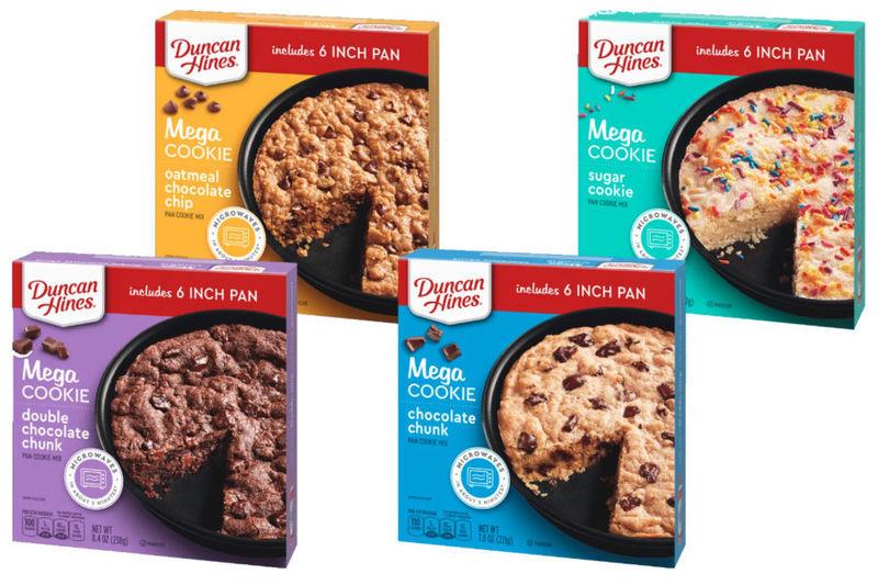Oversized Microwaveable Cookies