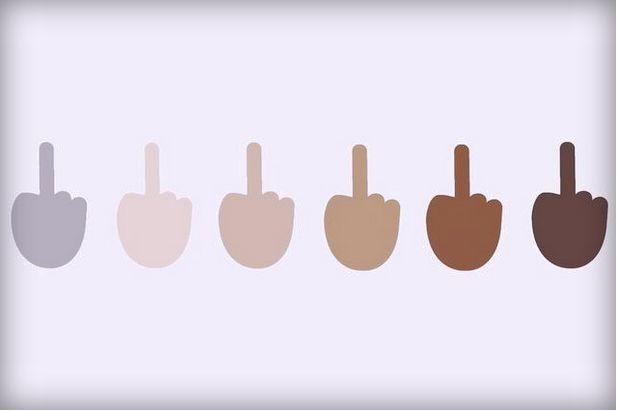 Middle Finger Emojis