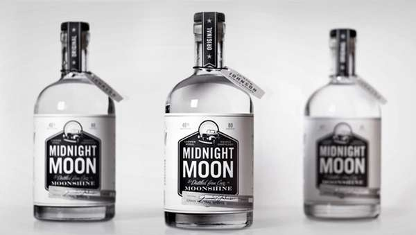 Alcoholic Moonlit Packaging