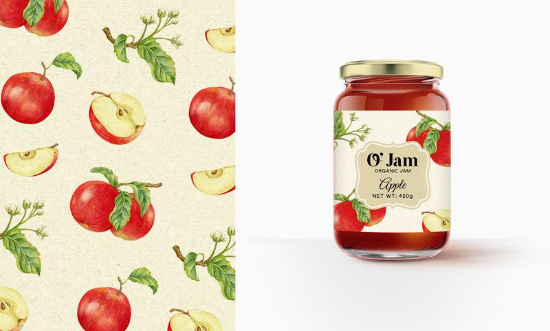 Nostalgic Jam Branding