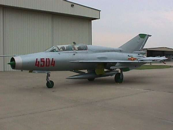 MiG-21 Fighter Jet Sold on eBay