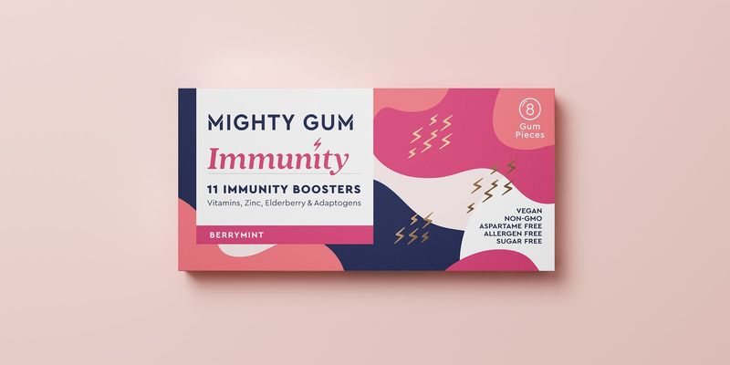 Immune-Boosting Chewing Gums