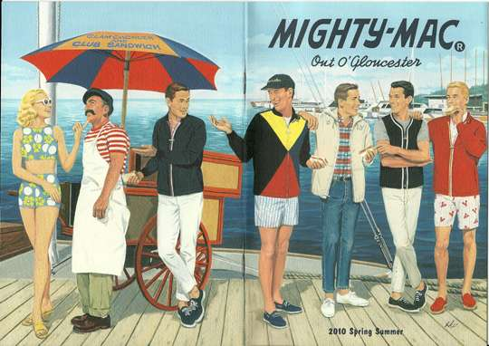 Retro Illustrated Lookbooks