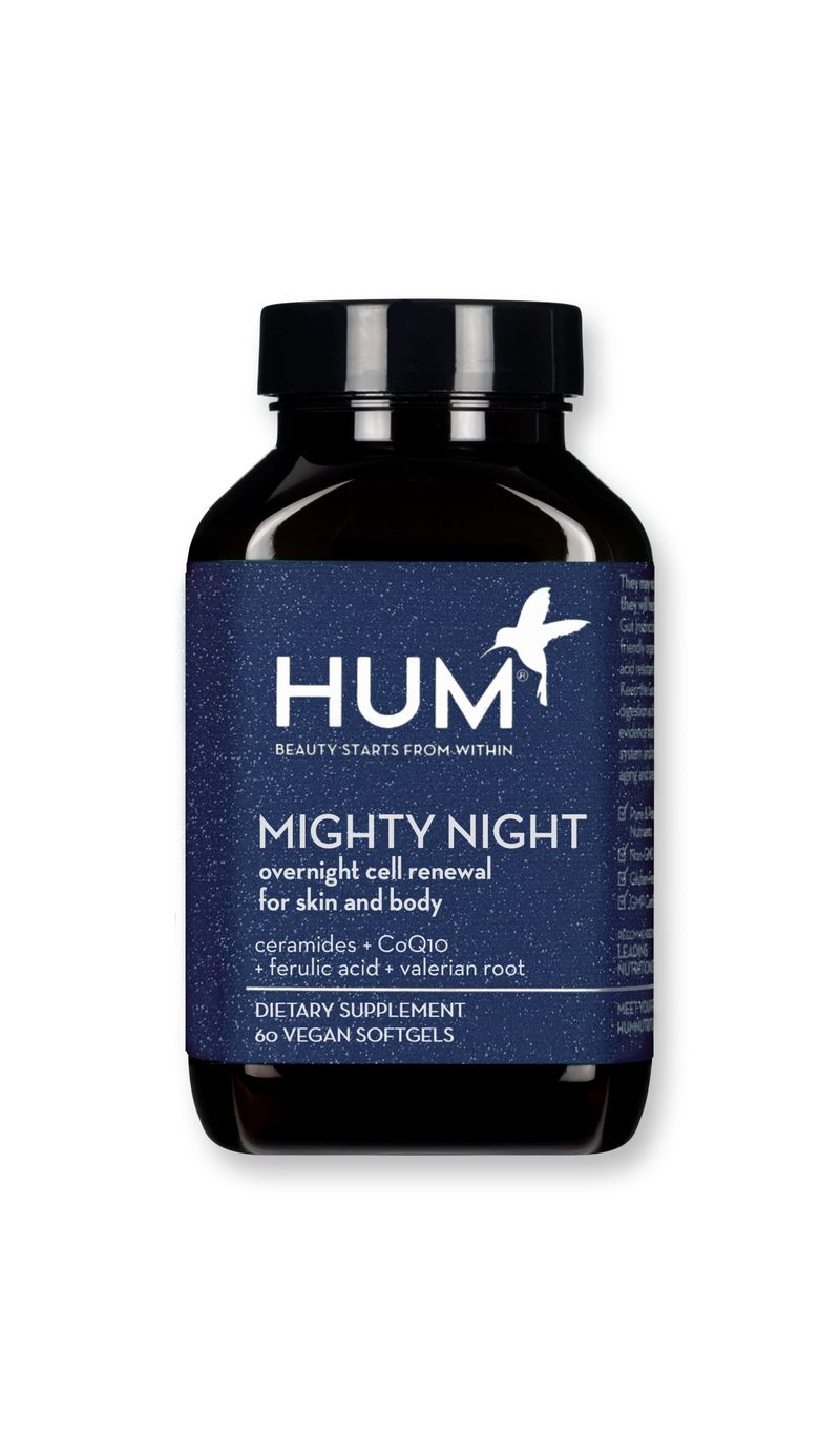 Nighttime Skincare Supplements