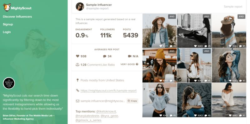 Influencer-Analyzing Tools