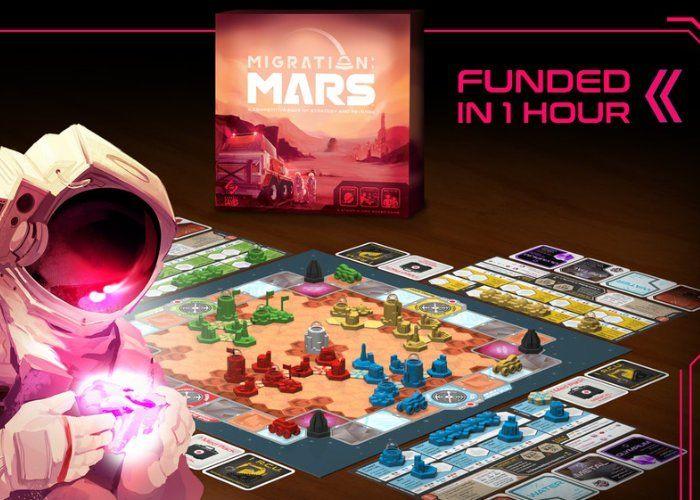 Mars Colonization Board Games