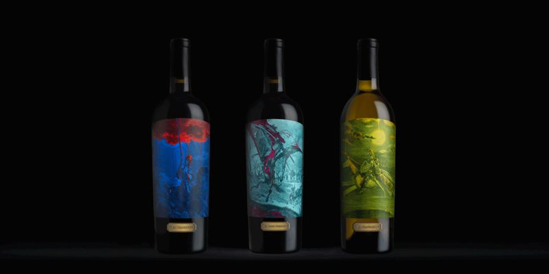 Adventure-Inspired Wine Bottles