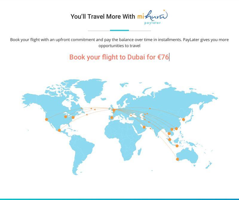Installment Payment Travel Services
