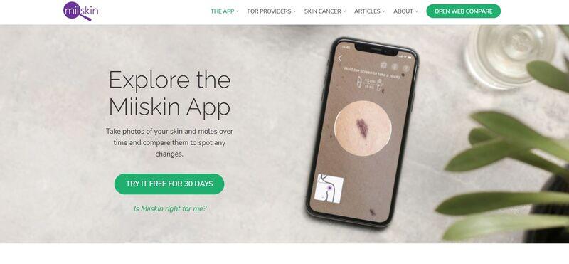 Informative Skin Health Apps