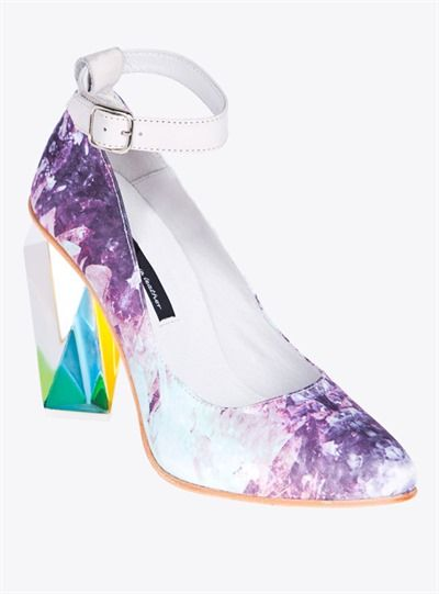 Kaleidoscopic Crystal Heels