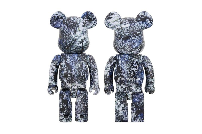 Floral-Accented Bear Figurines