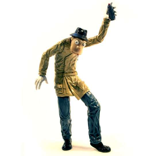 Action Figures of Artists