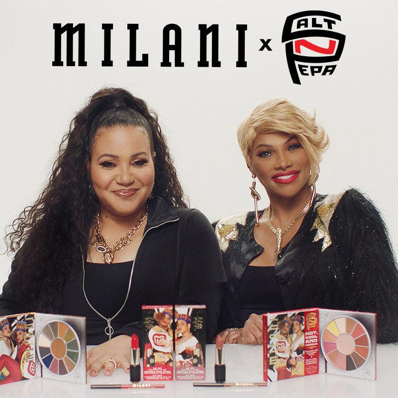 90s Hip-Hop Duo Cosmetics