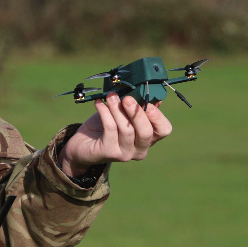 Miniaturized Military Drones