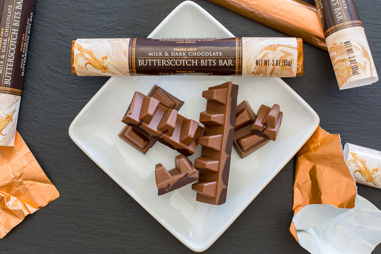 Marbled Butterscotch Bars