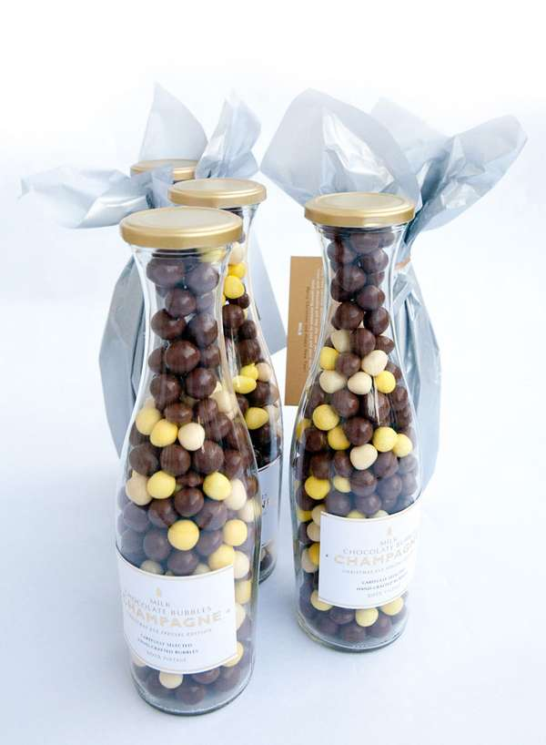 Chocolate Champagne Bubbles