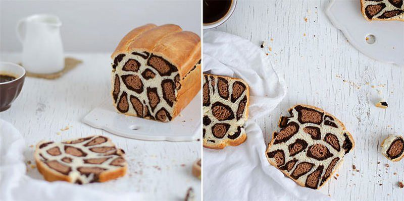 Leopard-Printed Bread Loaves