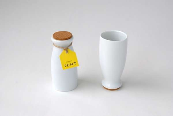 Milk Jar-Mimicking Cups